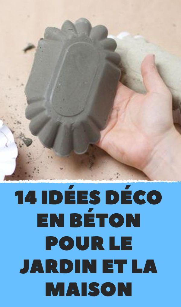 14 idées déco en béton pour le jardin et l. a. maison