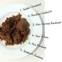 Tip & Trik Makan Rendangnya Warung Rendang :9