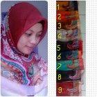 Jilbab yang murah dan berkualitas dengan jilbab motif ini anda akan terlihat lebih menawan dalam balutan busana islami