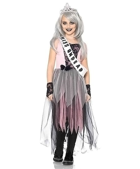 Zombie Prom Queen Dress-Up Set - Kids