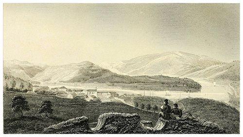 016-El Duero desde Pezo da Regoa-Portugal illustrated in a series of letters-1829