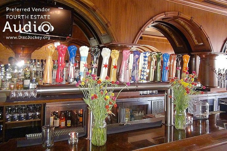 Look at Revolution  Brewing's massive selection of craft beers on  tap! http://www.discjockey.org/real-chicago-wedding-august-14-2016/