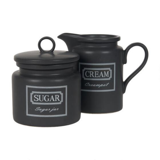 Forge Cream and Sugar Set