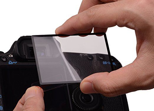 Rollei Pro Display Protection Scratch Resistant Shockproof Screen Protector for Nikon D750