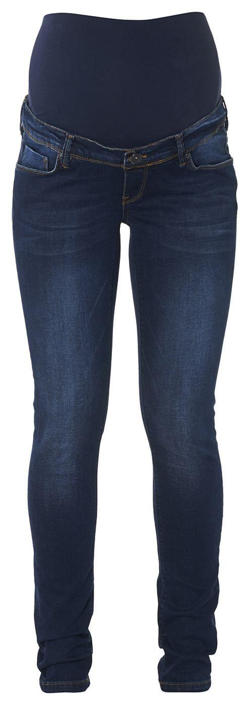 Slim Umstandsjeans Mila    Umstandsjeans Mila ist ein wahrer Noppies-Klassiker und die perfekte Slim-Fit-Jeans. Diese feminin geschnittene Jeans ist in ein schöner dunkler Waschung erhältlich, die dennoch genau die richtigen Stellen etwas verblasst. Basic, vorteilhaft und elegant.    Das elastische Bauchband bietet optimale Unterstützung. Der verstellbare Taillenbund sorgt für einen perfekten S...