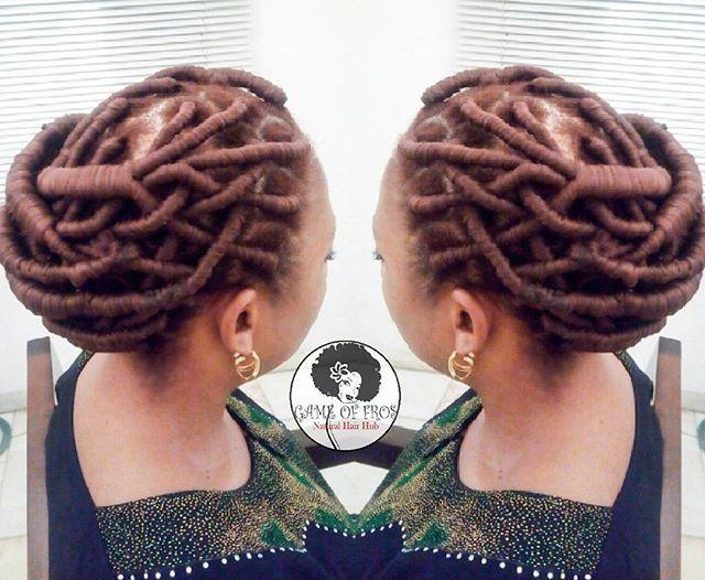 The Intricacy of African Threading! 🔥🔥🔥 Queendom👑 @morenikeajibike .  #protectivestyles #naturallyshesdope #kinkychicks #healthyhairjourney #braidsgang #goddesslocs #fauxlocs #bun #melanin #gameoffros #naturalhairdaily #teamnatural #naturalhairlagos #4chairchick #voiceofhair #africannaturalistas #naturalchixs #africanthreading #updo #crochetbraids #twists #twostrandtwist #naturalhairloves #naturallyshesdope