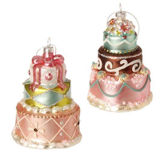 RAZ French Candy 4.5 Inch Cake Ornament