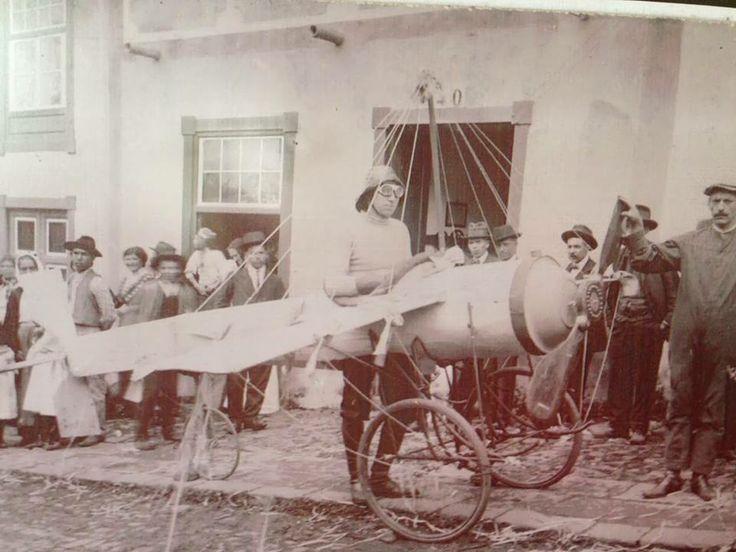 #Carnaval La Orotava, 1914 Fuente: página facebook Biblioteca Pública Municipal de La Orotava #carnival #Canarias