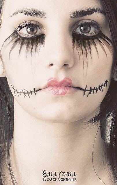 Make up fáceis de fazer   Estamos no dia de Halloween infelizmente a data não tem muita repercussão aqui no Brasil, mas assim mesmo selec...