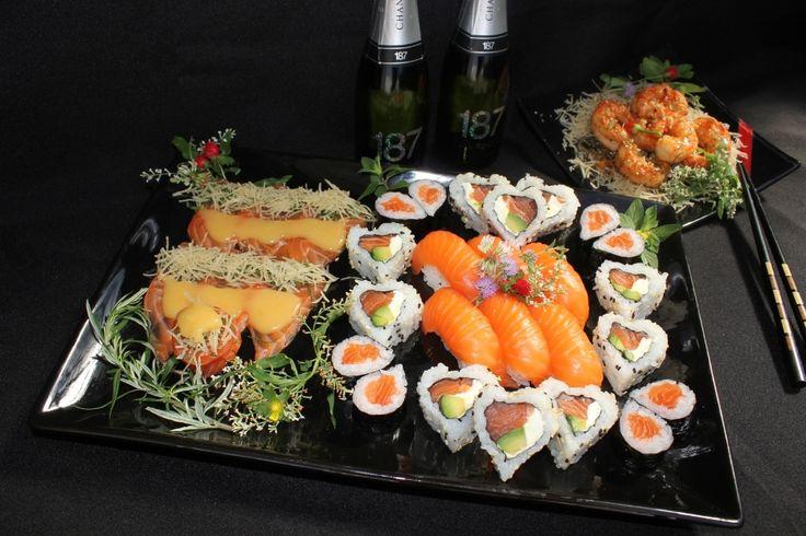 Kokoro Sushi delivery: una noche especial para San Valentín - http://www.femeninas.com/kokoro-sushi-delivery-una-noche-especial-para-san-valentin/