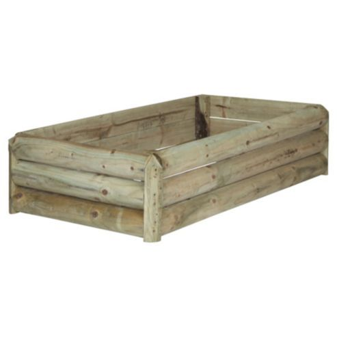 Buy Low level wooden planter from our Planters range - Tesco.com