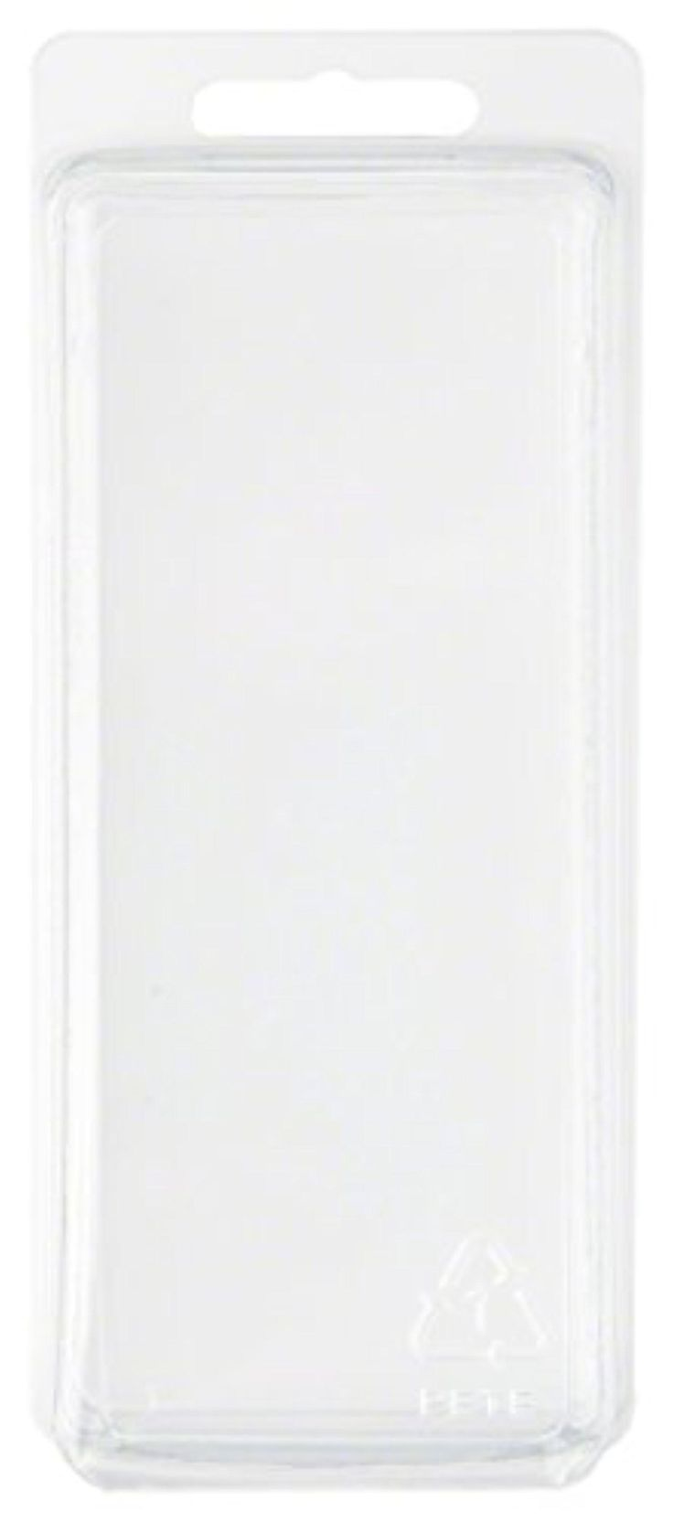 "Clear Plastic Clamshell Package / Storage Container, 5.19"" H x 2.19"" W x 2.38"" D - Brought to you by Avarsha.com"