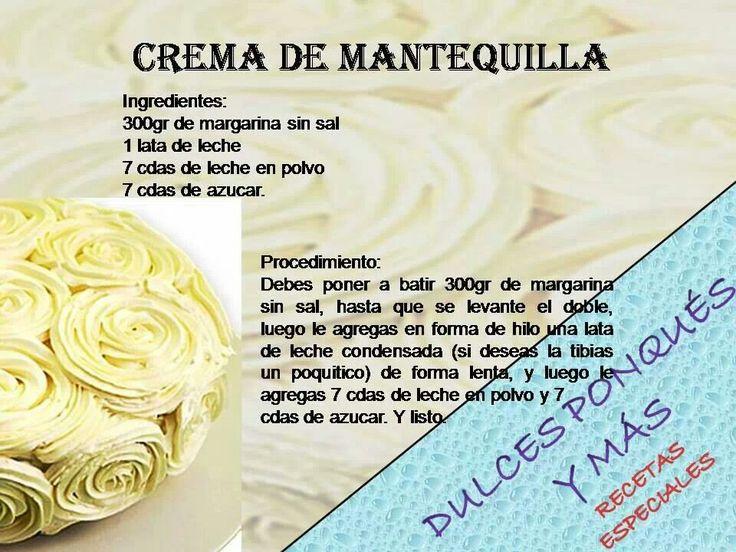 Crema de mantequilla