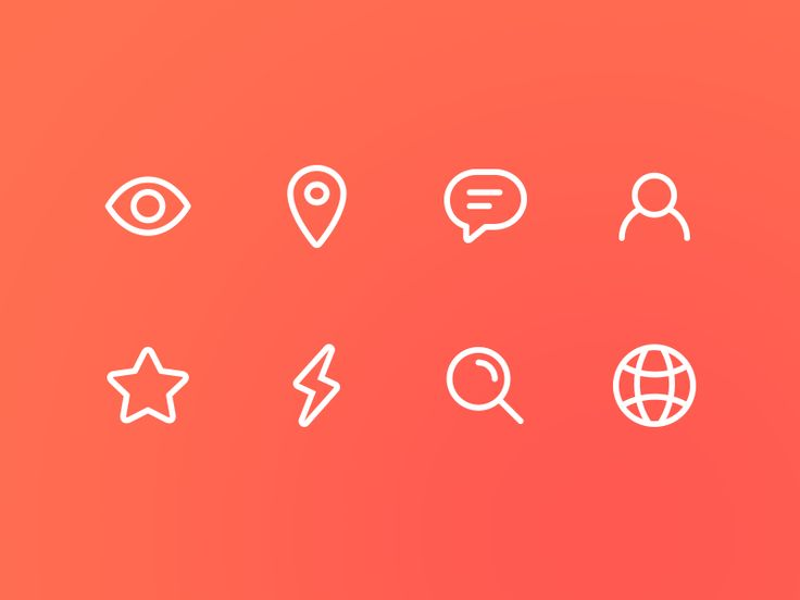 Pudgy Line Icons by Alec Schmidt for Disqus