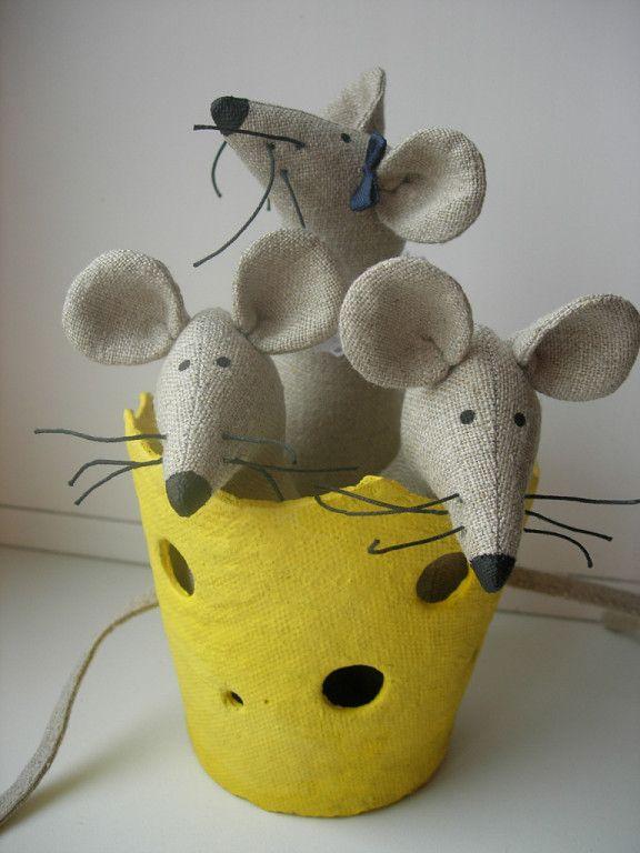 ratón en el queso