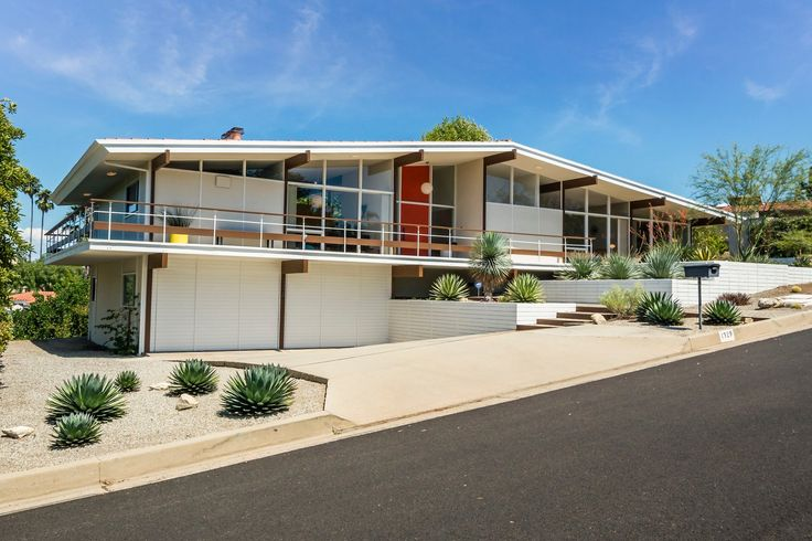 beautifully preserved mid century house