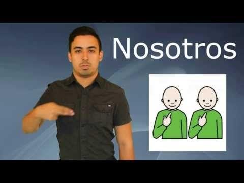 Vocabulario Básico 3 - Lengua de Señas Colombiana LSC - YouTube