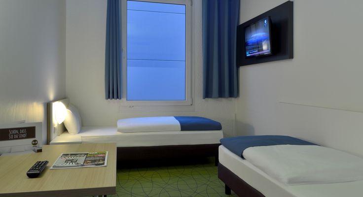 Barrierefreies Zimmer im B&B Hotel Köln-Airport