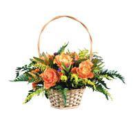 Lenagold - Клипарт - Оранжевые розы 3
