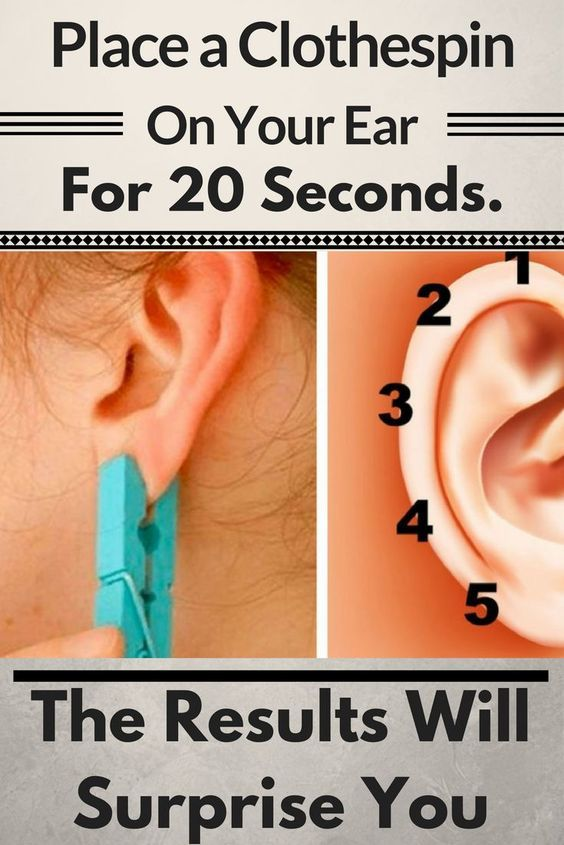 Place a Clothespin On Your Ear For 20 Seconds. The Results Will Surprise You