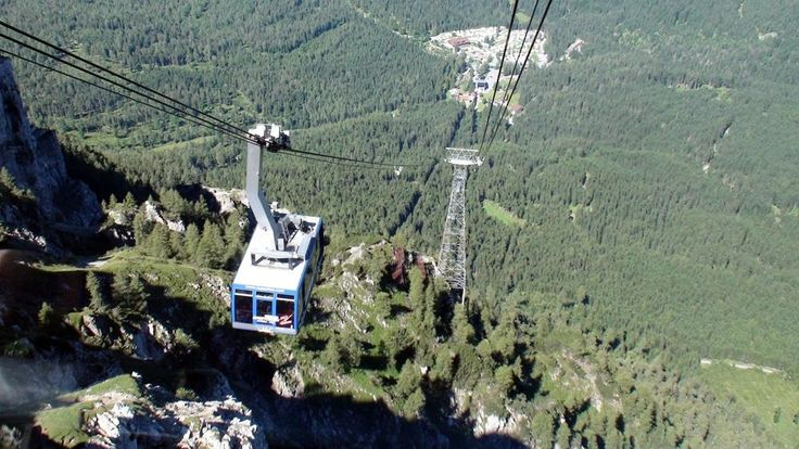 Tiroler Zugspitzbahn (reach Zugspitze by cable car from the Austrian side) - Ehrwald, Austria