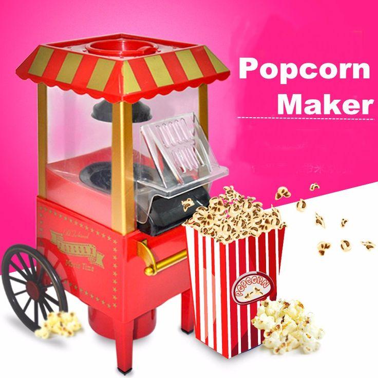 Vintage Retro Electric Popcorn Maker Best Offer. Best price Vintage Retro Electric Popcorn Maker, Popper Machine Home Party Carnival EU Plug. Vintage Retro Electric Popcorn Maker #Vintage #Retro #Electric #PopcornMaker