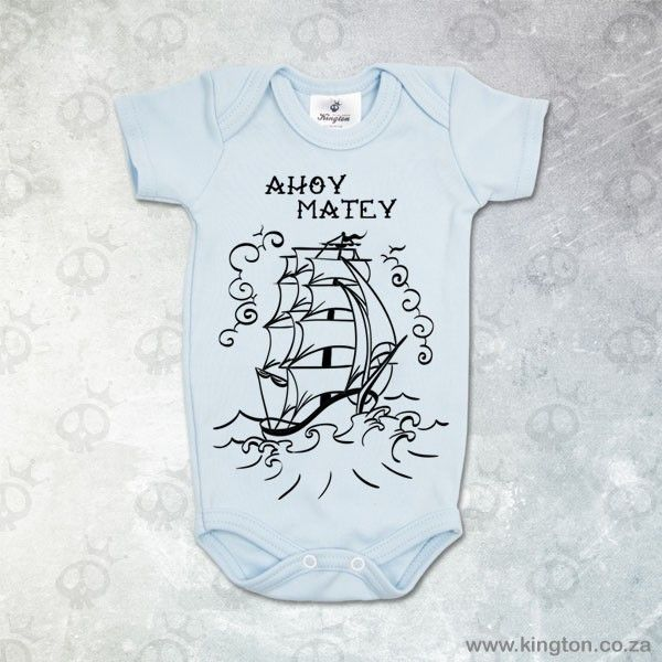 Ahoy Matey Romper