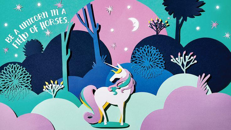 Wallpaper Unicorn Free Windows 10 Desktop