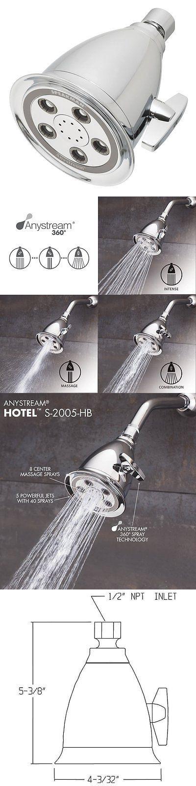 shower heads speakman s2005hb hotel anystream high pressure adjustable shower