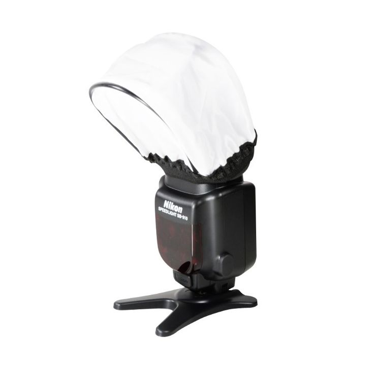 Foto&Tech Soft Mini Flash Bounce Diffuser Cap for for SPEEDLIGHT NIKON SB-900, SB-800, SB-910,CANON 580EX II, 600EX-RT,430EX II, PENTAX AF-360FGZII, OLYMPUS FL-600R, PANASONIC DMW-FL360L