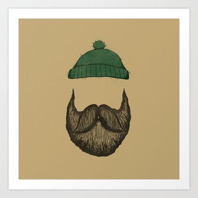 The Logger Art Print by Zach Terrell - $17.00