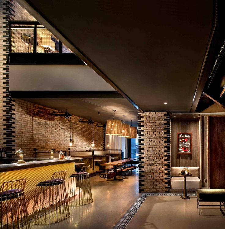Nico Lounge at Thompson Chicago interior architecture and design by Tara Bernerd & Partners, photo by Philip Vile