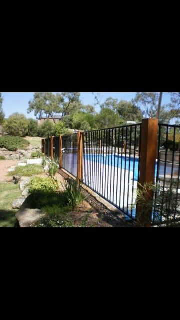 103 Best Pool Fences Images On Pinterest Decks Garden Fencing And Garden Ideas
