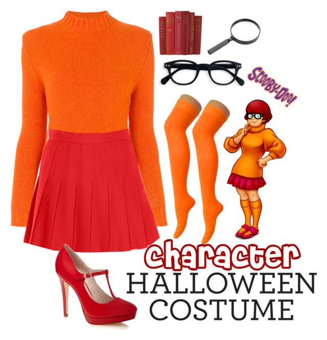 """Velma Costume"" by kathrynesker on Polyvore"