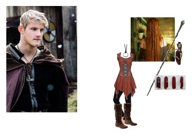 """""""The Knight and the Nympth"""" by nikkisdemons on Polyvore featuring LoveSurf, UGG Australia and OPTIONS"""
