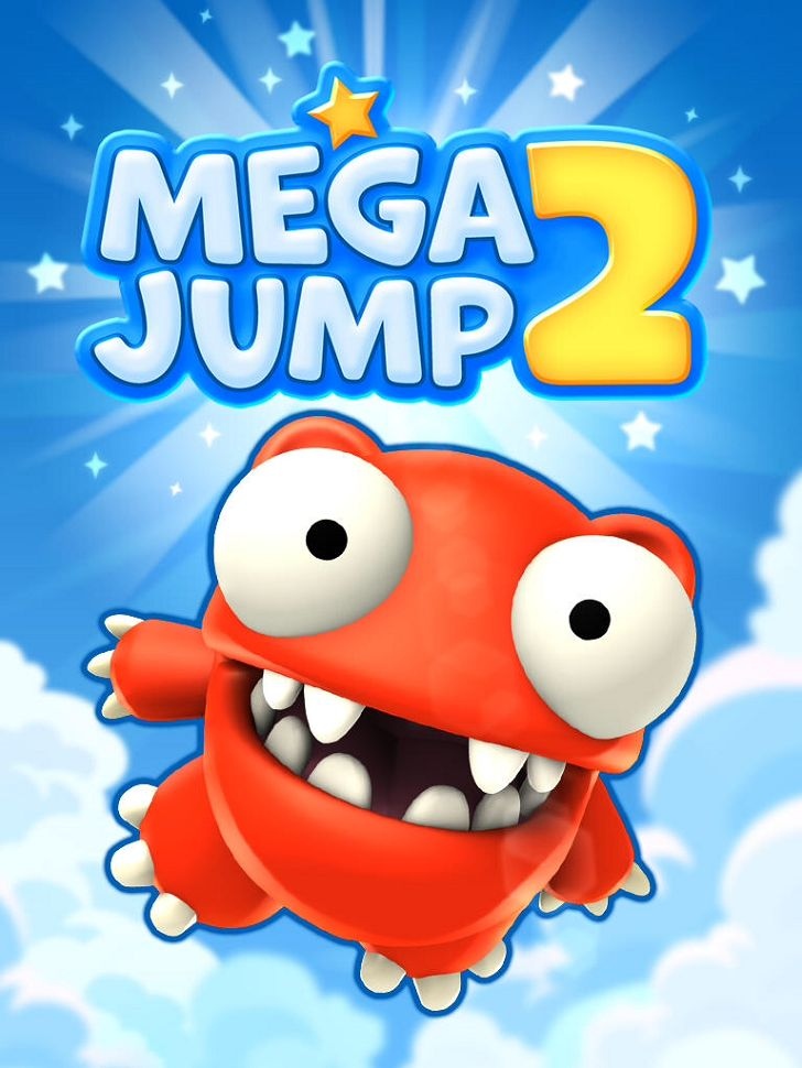 Mega Jump 2 App by Get Set Games. Endless Jumping Apps.