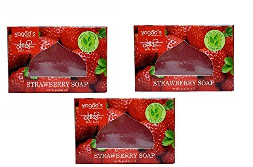 KHADI VAGAD HAND MADE SOAP - STRAWBERRY (PACK OF 3) (MRP ... http://www.amazon.in/dp/B06X6MJSXB/ref=cm_sw_r_pi_dp_x_XF7Qyb0FNSRTH