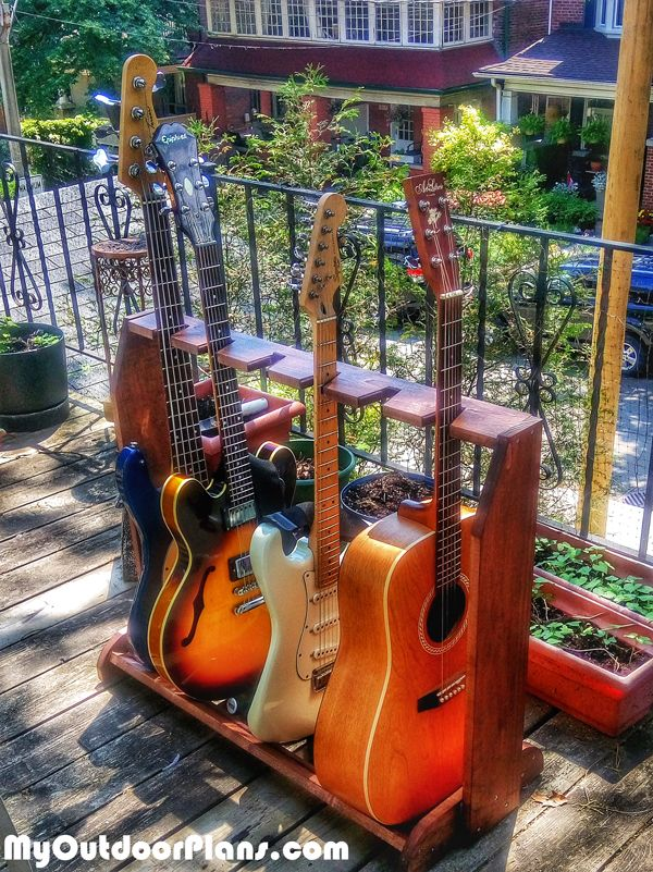 how to build a guitar stand