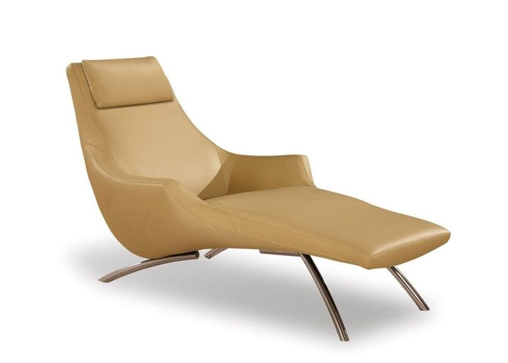 http://www.ireado.com/elegant-chaise-lounge-indoor/ Elegant Chaise Lounge Indoor : Furniture Awesome Beige Leather Indoor Chaise Lounge Sofa Design Inspiration With Comfortable Headrest Chaise Lounge Indoor