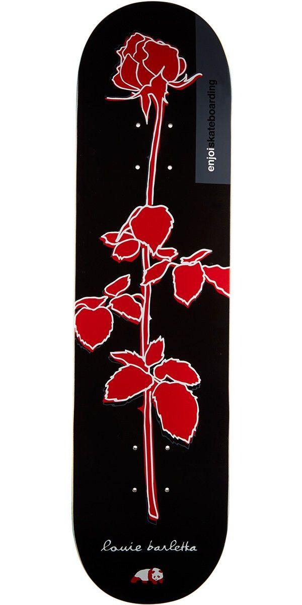 Enjoi Rose R7 Skateboard Deck - Louie Barletta - 8.0