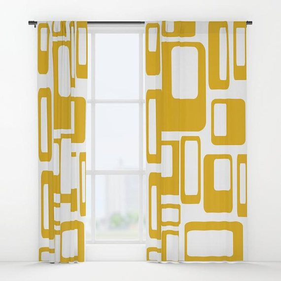Retro Curtain Panels Modern Curtains Retro Curtains Retro