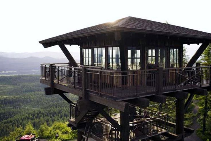 Fire Lookout homes and tiny houses