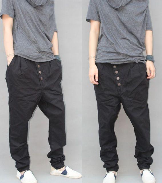 versandkostenfrei herren pluderhosen neue 2013 Hip-Hop koreanischen stil kleidung männer kegel Schritt hosen lässig