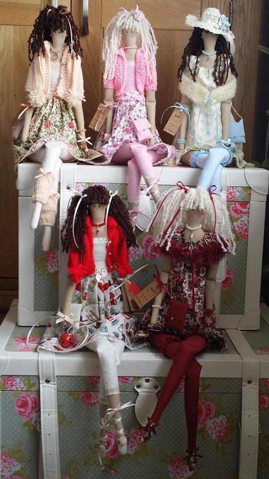 """Lorraine's Tilda Dolls - FACEBOOK ------ Todos mis muñecas tilda son de 26 """" de alto"""
