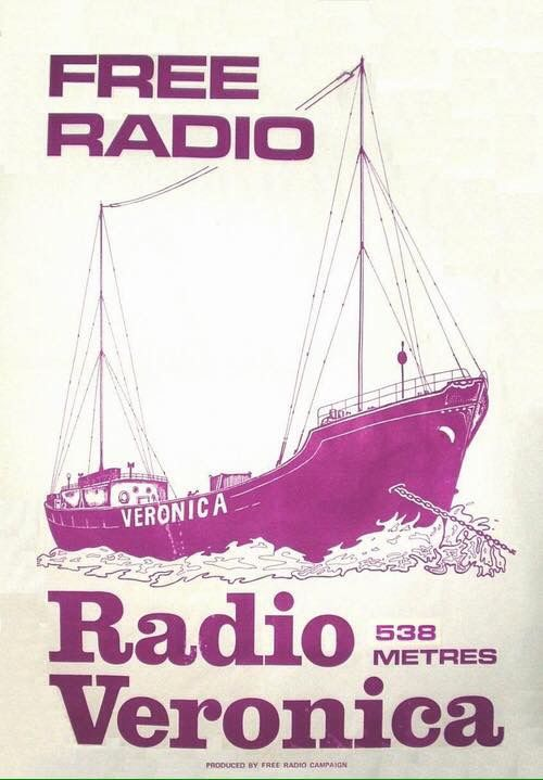 Poster for Radio Veronica 538m
