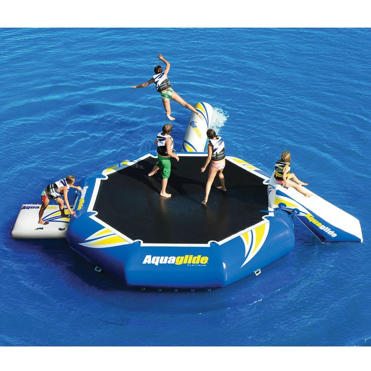 Aquaglide Platinum Rebound Aquapark 16 Bouncer Set - Overton's