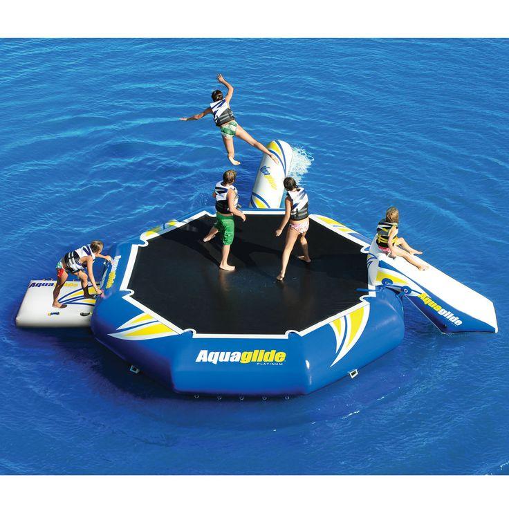 Aquaglide Platinum Rebound Aquapark 16 Bouncer Set - Overton's