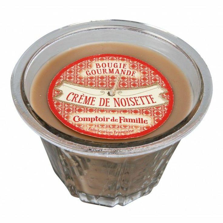 Bougie parfumée - Crème de noisette - Comptoir de Famille
