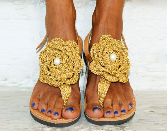 Luxurious Sandals/ Leather Sandals/ Handmade by magosisters