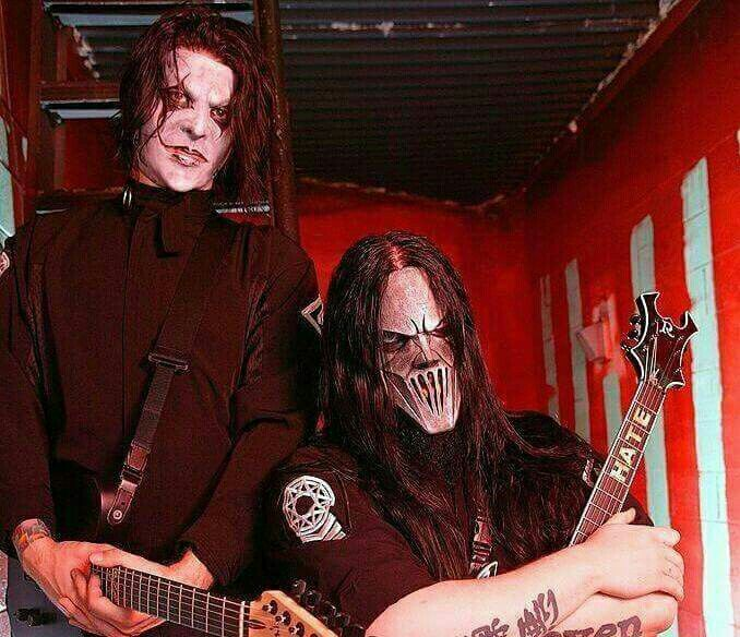James Root and Mick Thomson
